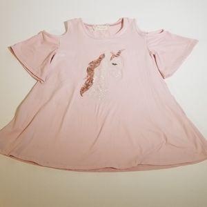 🦄 Btween Girl's unicorn top size